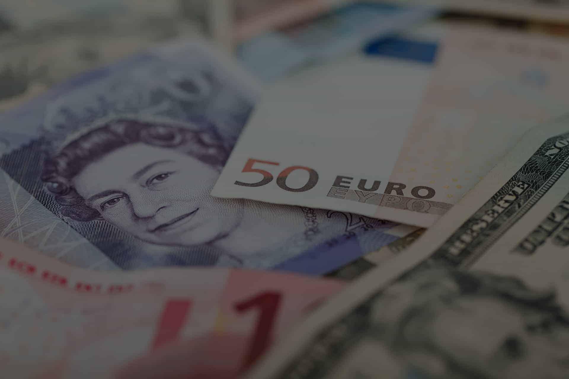 Billets de différentes devises